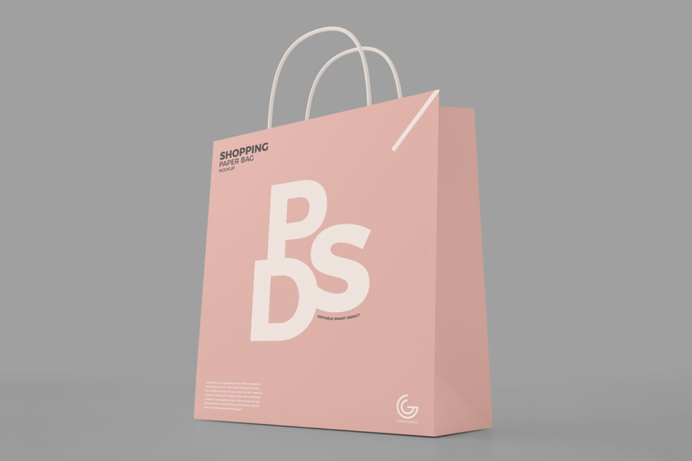 Download Download This Paper Shopping Bag Mockup Free PSD in 2020 ...