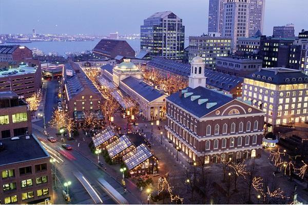 Американское сокровище — Бостон