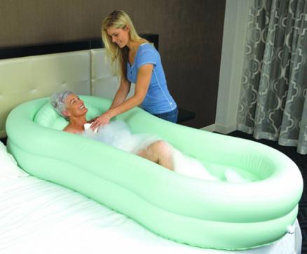 EZ Bathe Inflatable Bed Bath | Handicap equipment | Pinterest ...