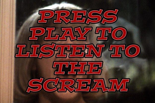 Bet You Can\u0027t Name The Horror Movie Scream Queen From Her Scream