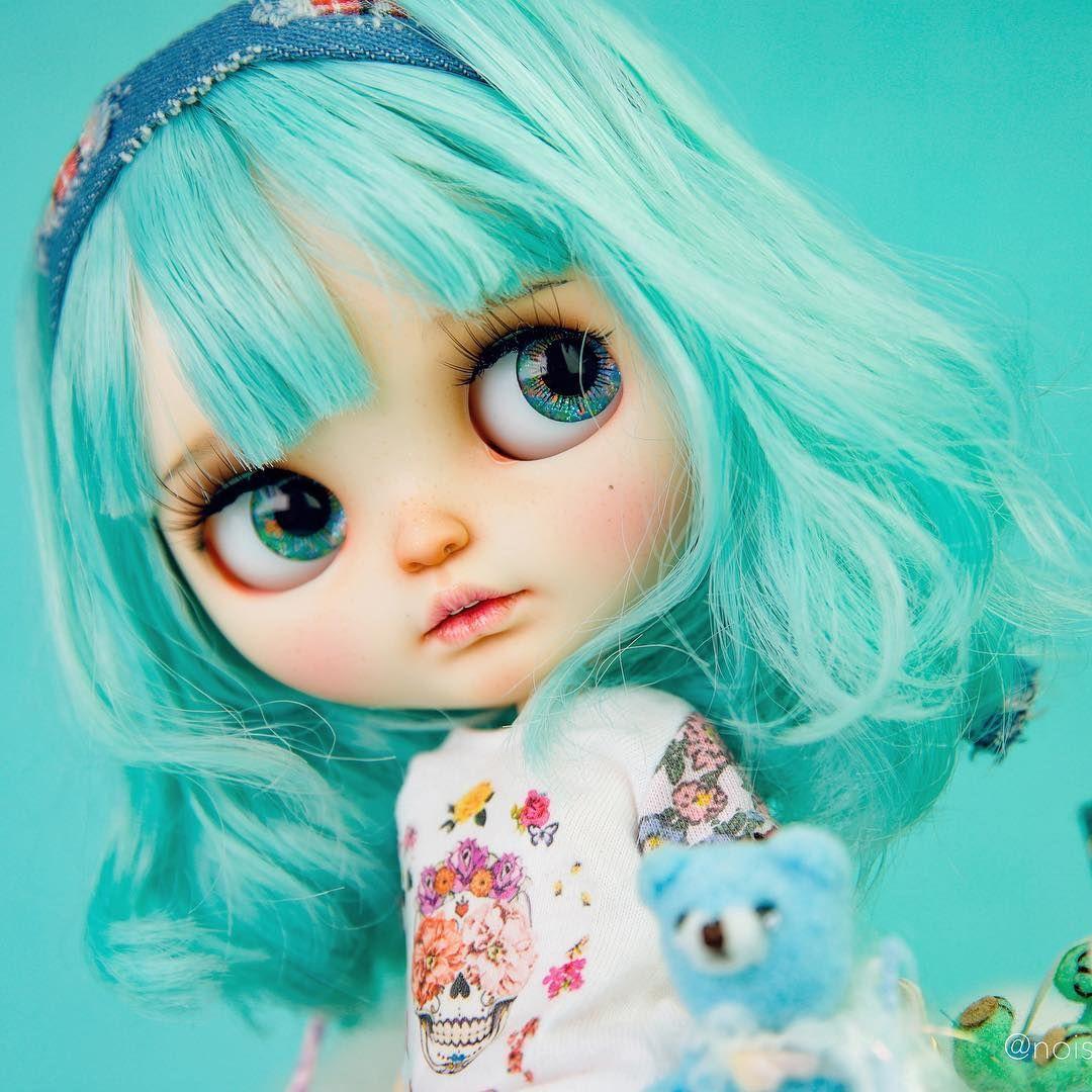 (⁎⁍̴̛ᴗ⁍̴̛⁎)#Blythe #Blythedoll #customBlythe  #noise #noisedoll  #Blythecustom #doll