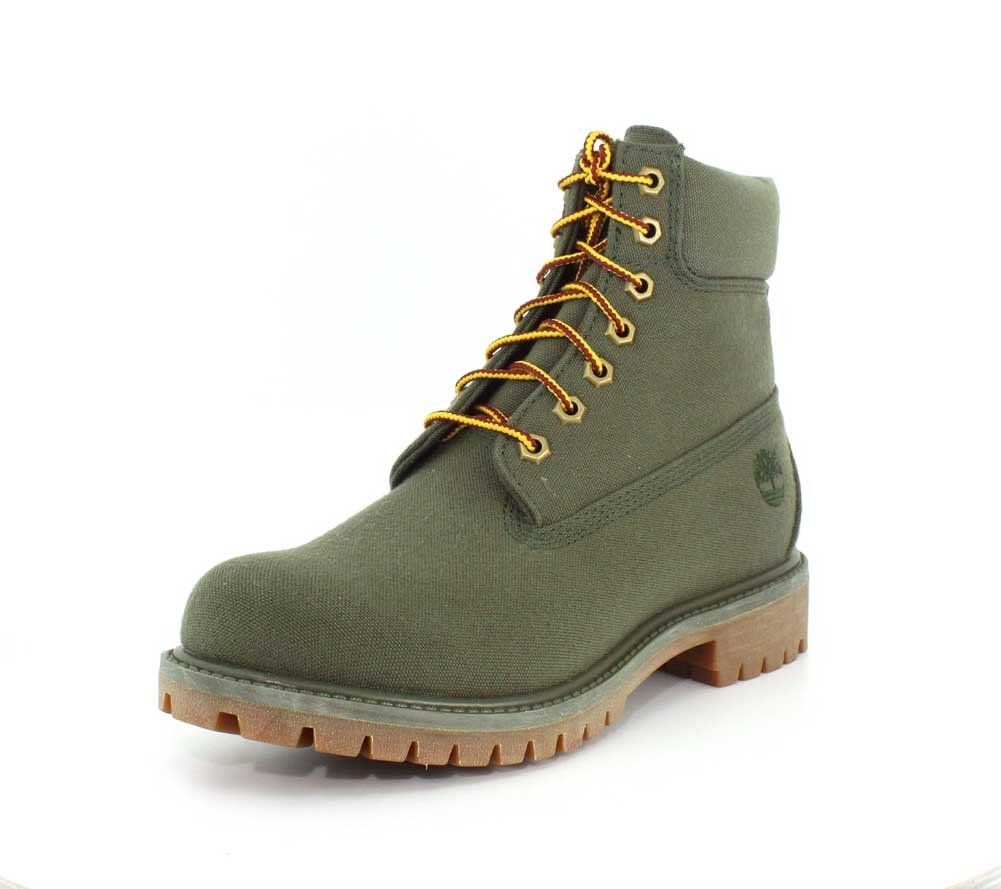 Timberland Mens 6Inch Premium Thread Canvas Grape Leaf Thread Canvas Boot  7.5     You can get more details by clicking on the image. 46dadc6bc3d