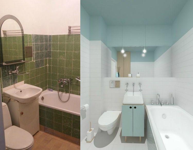 Bathroom Remodel Pics Before After Before \ After San Francisco - repeindre du carrelage de salle de bain