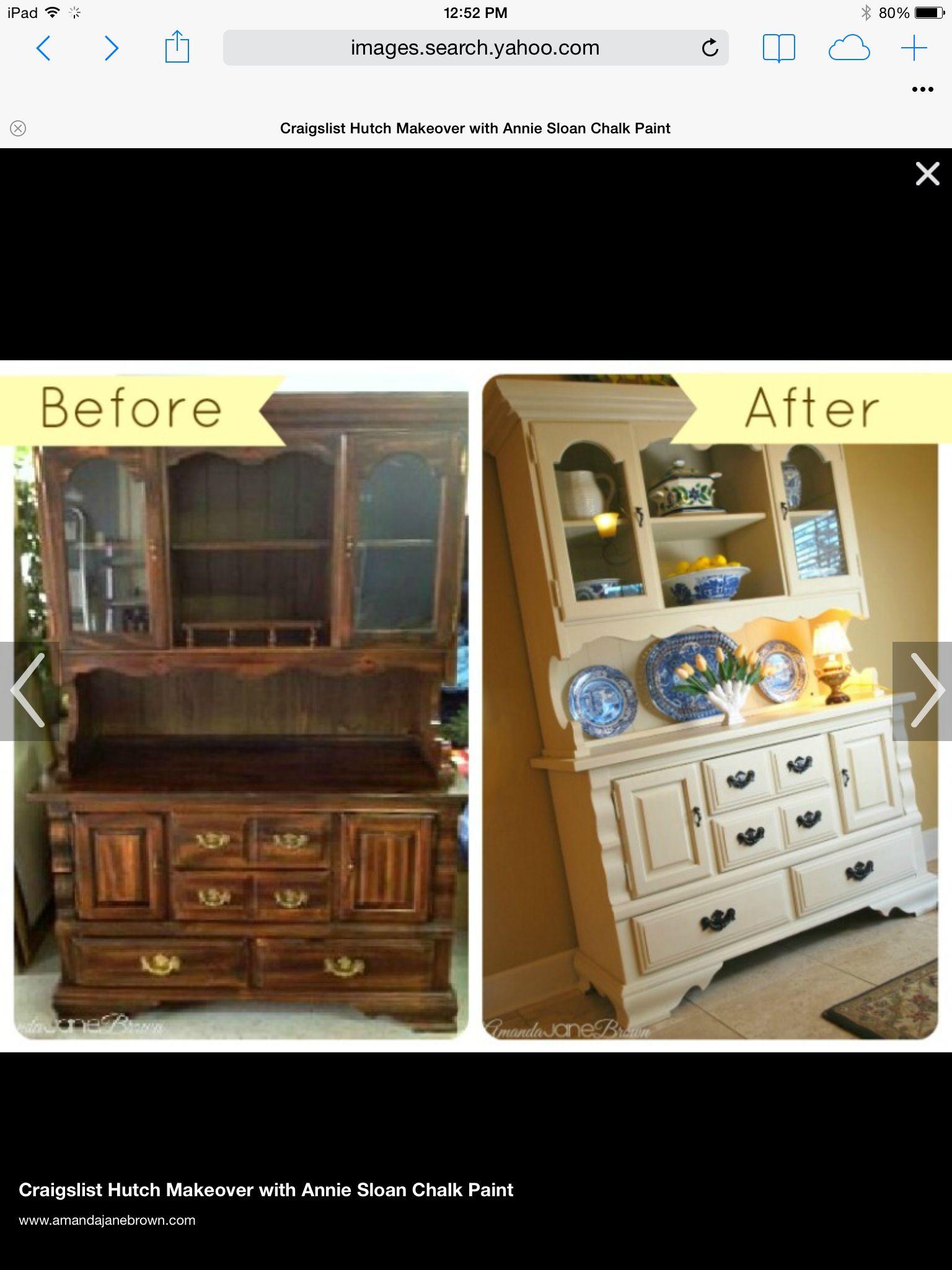 Hutch restoration idea