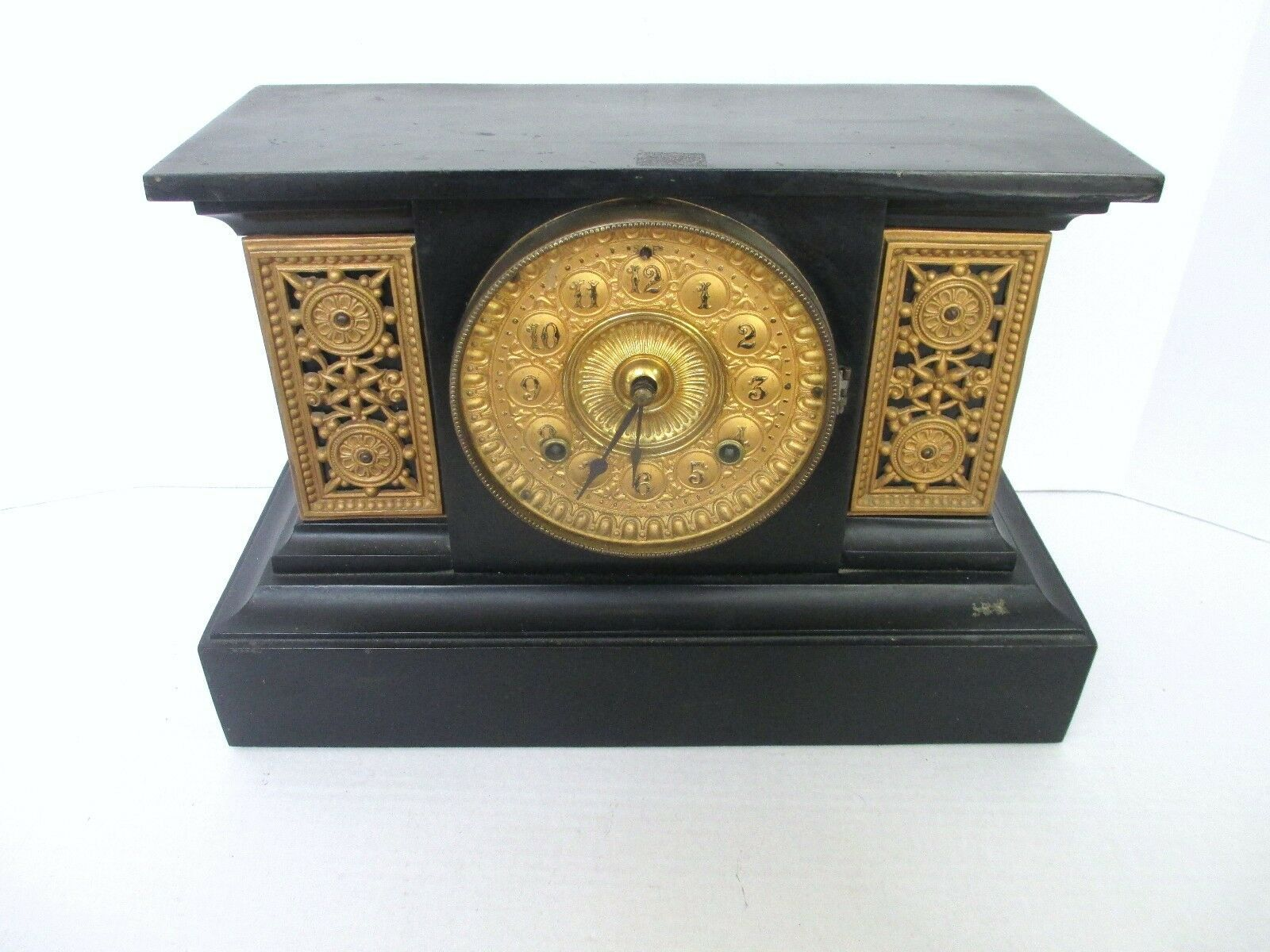 Details about Antique Ansonia Mantle or Shelf Clock 1882