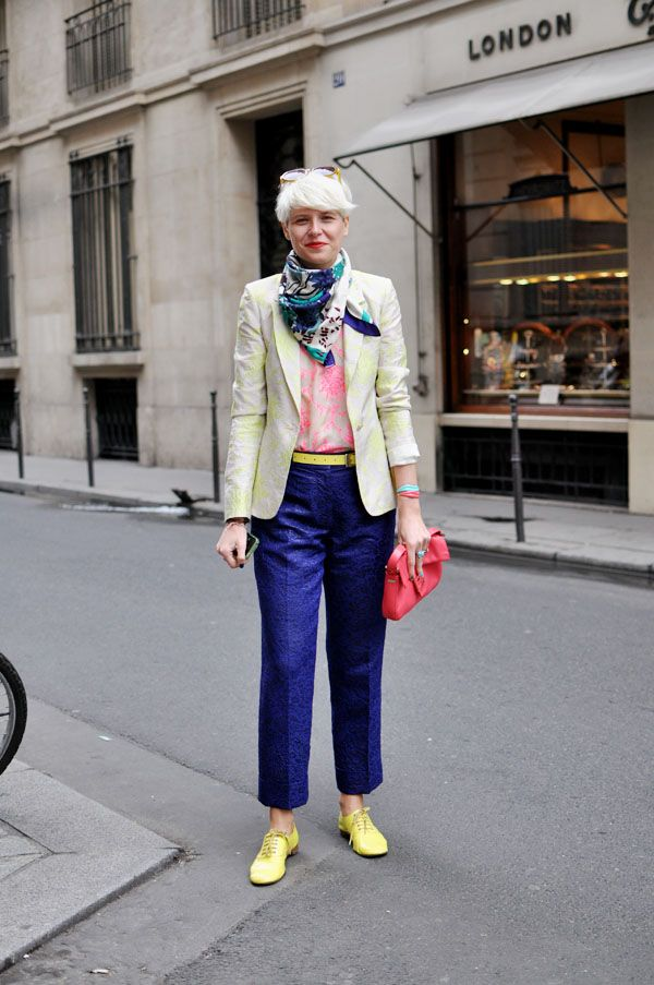 Elisa Nalin and her classy, crazy style.