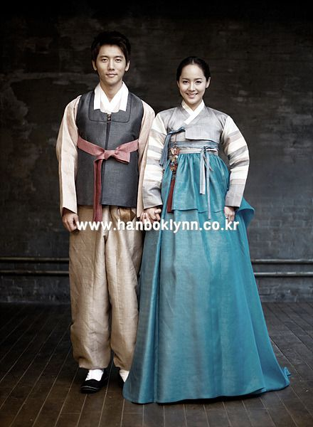 The ways of the traditional fashion in the lives of the korean people