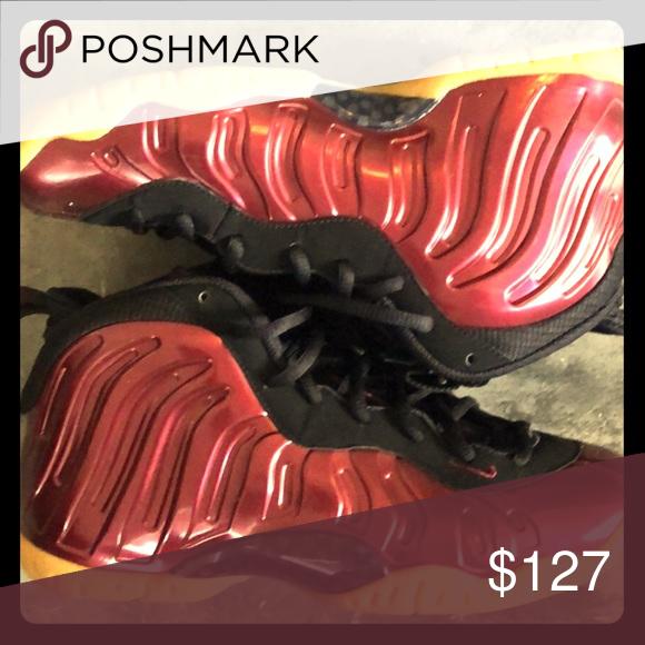 Nike Maroon Foamposites 02ce114a9