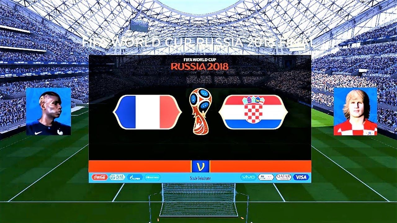 France Vs Croatia Fifa World Cup Russia 2018 Final Luzhniki Stadium World Cup Russia 2018 World Cup Fifa World Cup