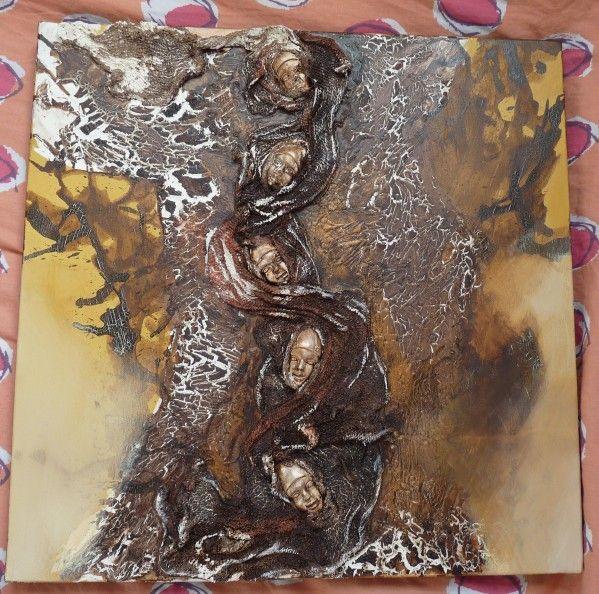 Atelier Powertex A Arteis Toulouse Tableau Peinture Acrylique