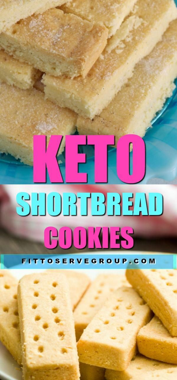 Rich, buttery Keto Shortbread Cookies. It's the most simple way to create an authentic shortbread cookie that is low in carbs and keto-friendly.
