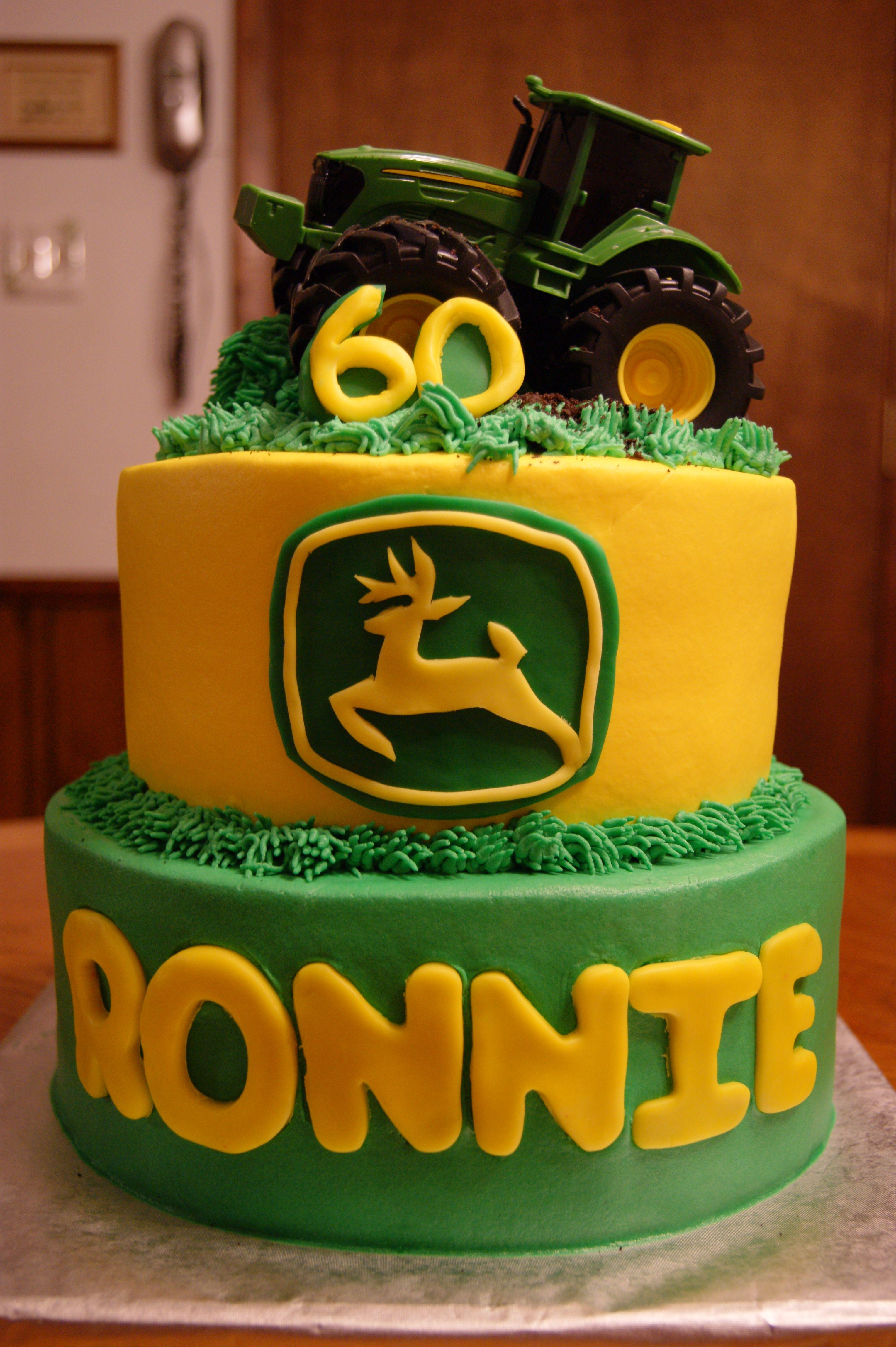 John Deere 60th Birthday Cake