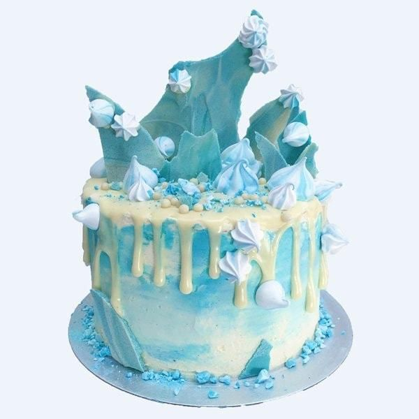 Frozen Elsa Cake Dolci Pinterest Shower cakes Unique baby