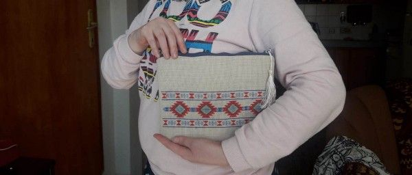 Photo of Etamin Clutch Makrome Clutch Turkish Handcrafted Handbags Ordering From İnstagram(actbutik)
