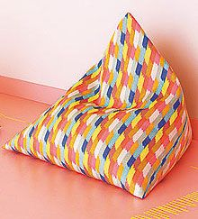 sommer accessoires anleitung f r den eckigen sitzsack. Black Bedroom Furniture Sets. Home Design Ideas