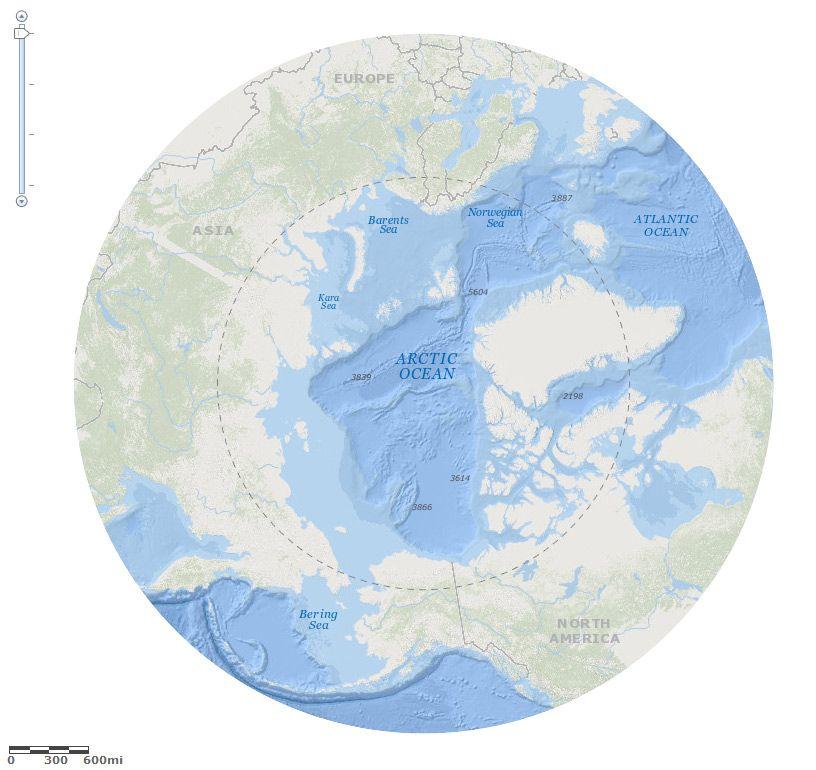Arctic Ocean Basemap - Beta #ocean #GIS #Esri GIS Pinterest - new world map software download for mobile