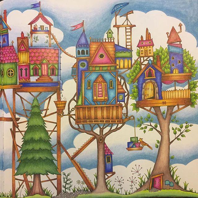 enchantedforest enchantedforestcoloringbook joha