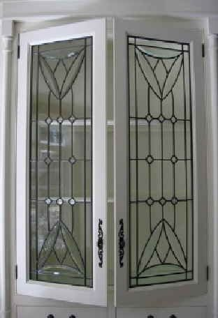 custom made leaded glass cabinet inserts leaded glass cabinets leaded glass kitchen cabinets on kitchen cabinets glass inserts id=16924