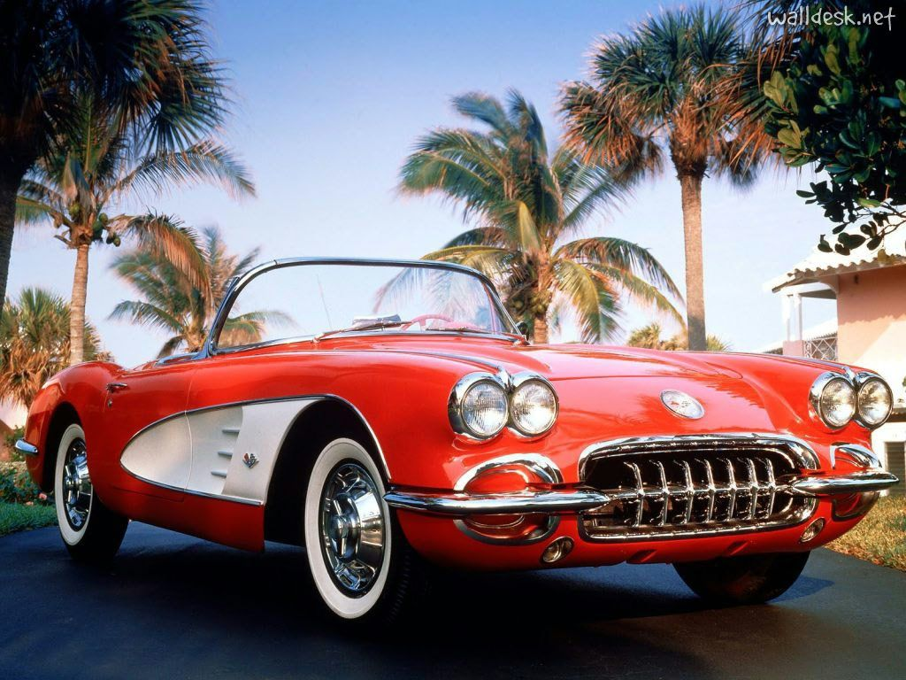 Cars Photos From 1950 Classic Corvette Images To