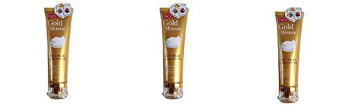 Beauty Set  3 Units of Facy  Gold Mousse Gold Pearl Facial Cleanser Whitening  Exfoliating 80g282 Oz Best Seller of Thailand Free Facial Hair Epicare Spring A1Remover >>> See this great product.
