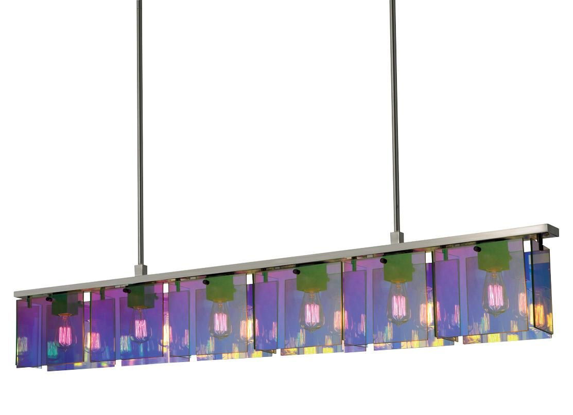 True Colors Dichroic Glass And Lighting Glass Light Fixture