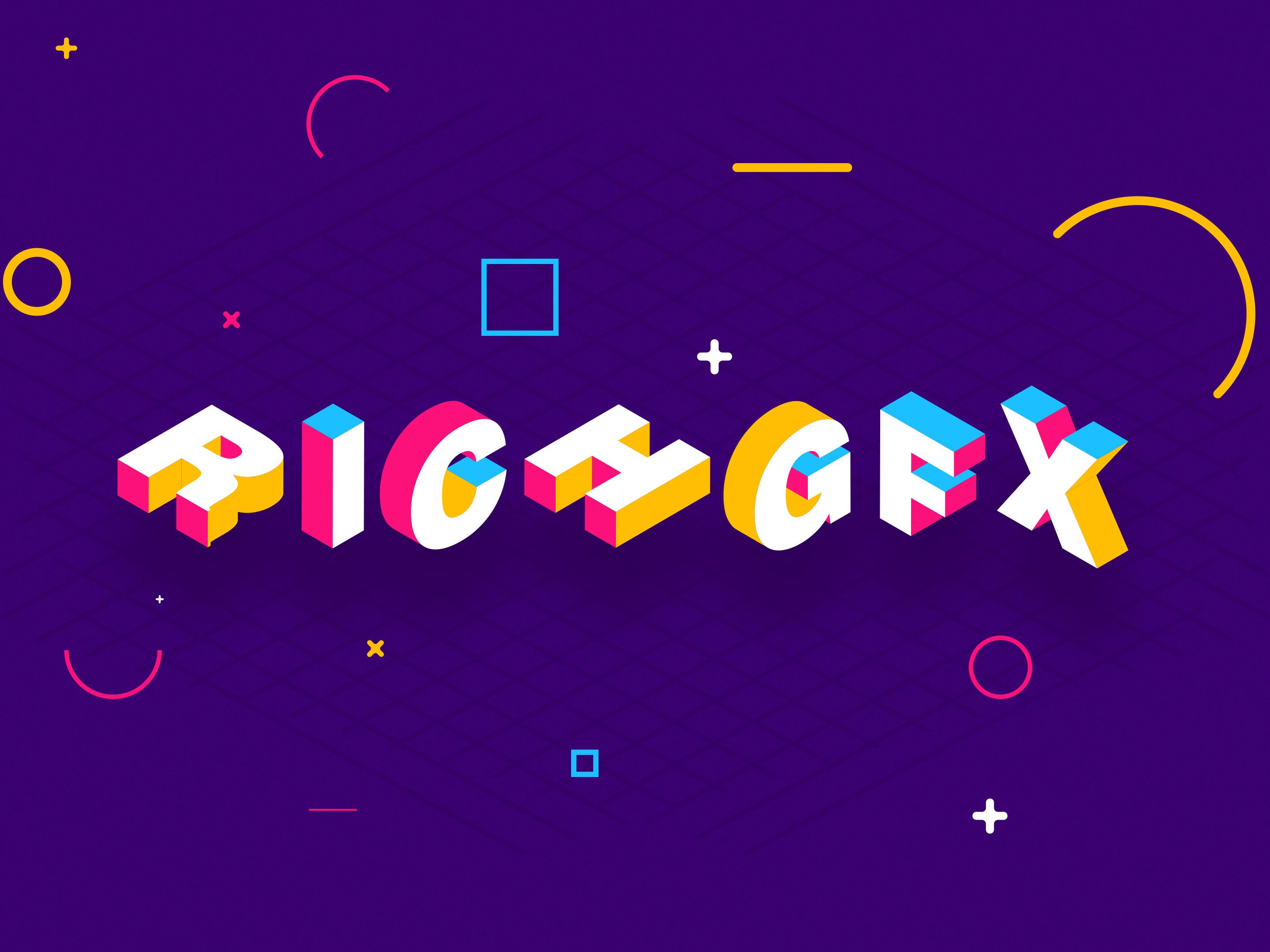 3D Isometric Text Effect In Adobe Illustrator in 2020