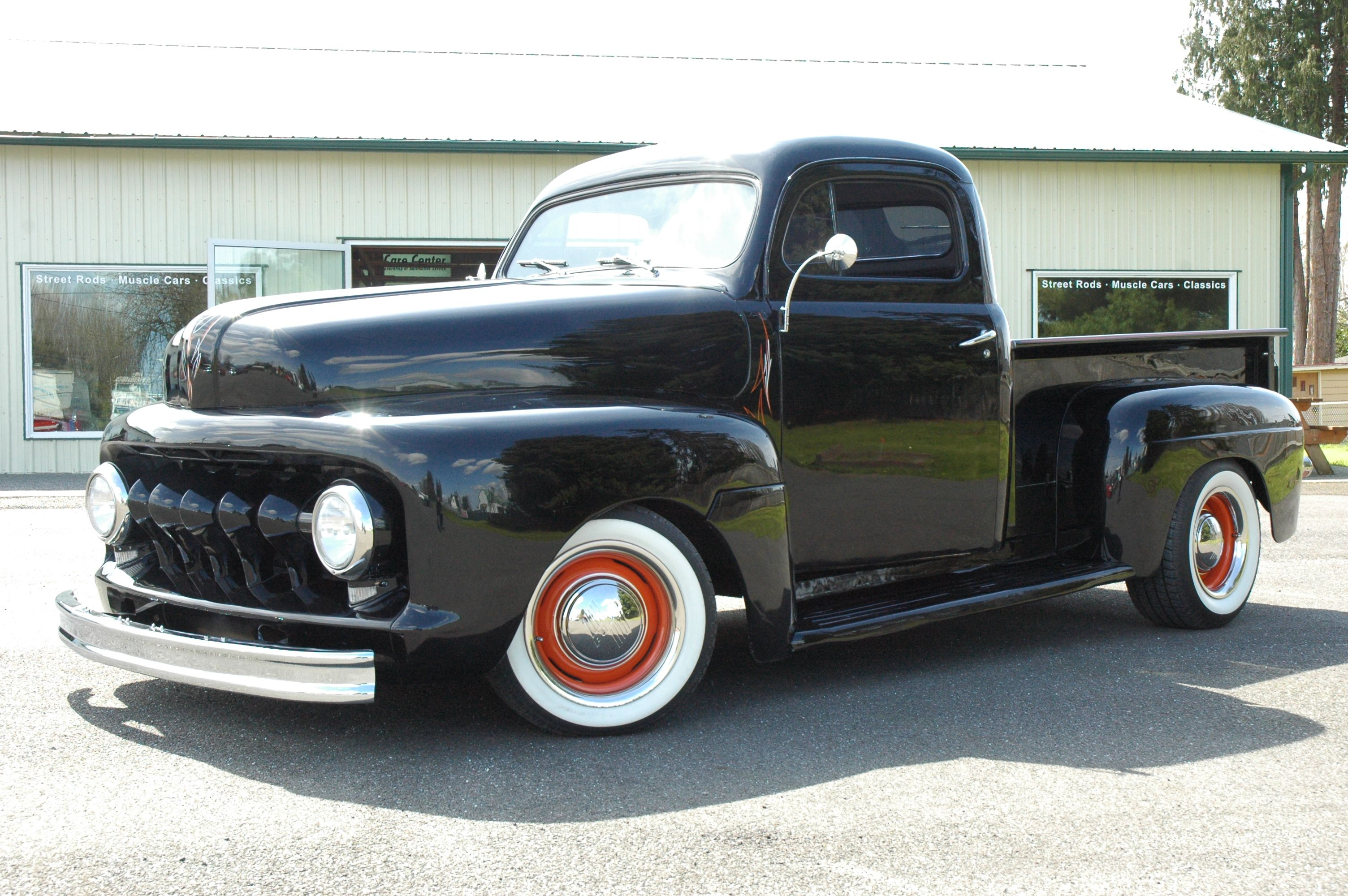 1951 ford truck sold 1951 ford pickup chopped top