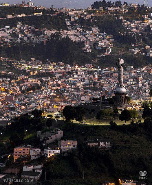 Quito - PANECILLO | by erickfavio