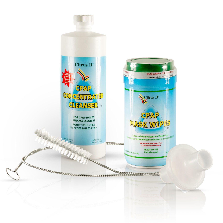 Cpap Essentials Cleaning Kit Advanced Cpap Mask And Cpap Machine Care Cpap Cpap Cleaning Cure For Sleep Apnea