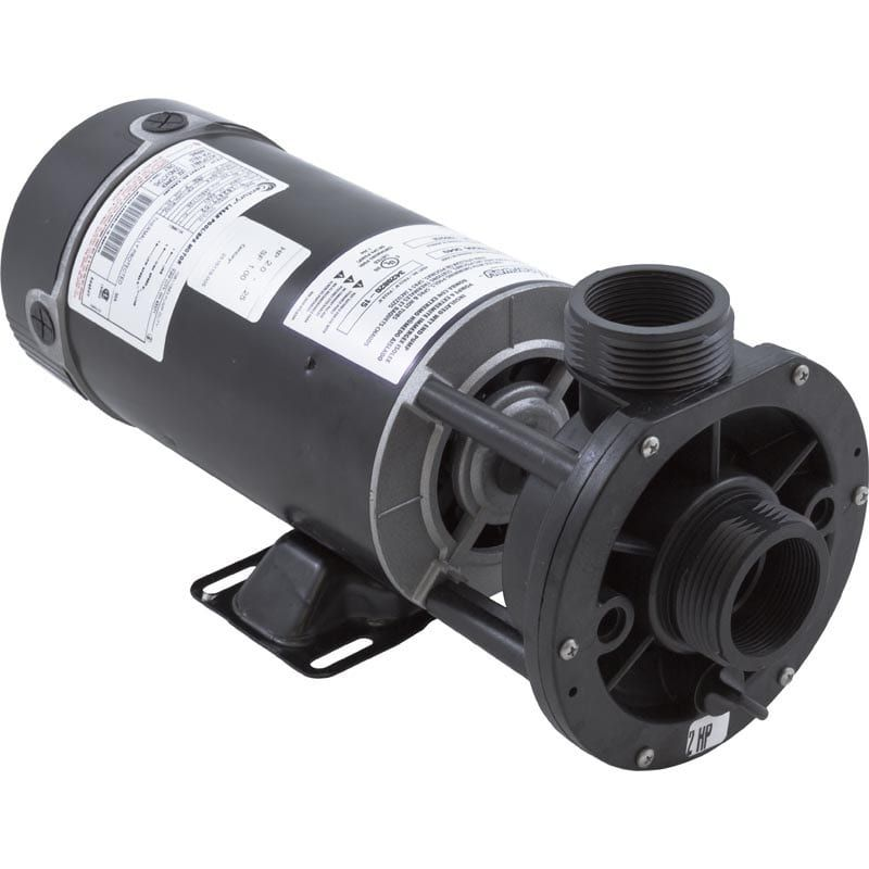 Waterway 2 Speed Pump 2 Hp 230 Volt Center Discharge Custom Pools Spa Parts Pvc Fittings