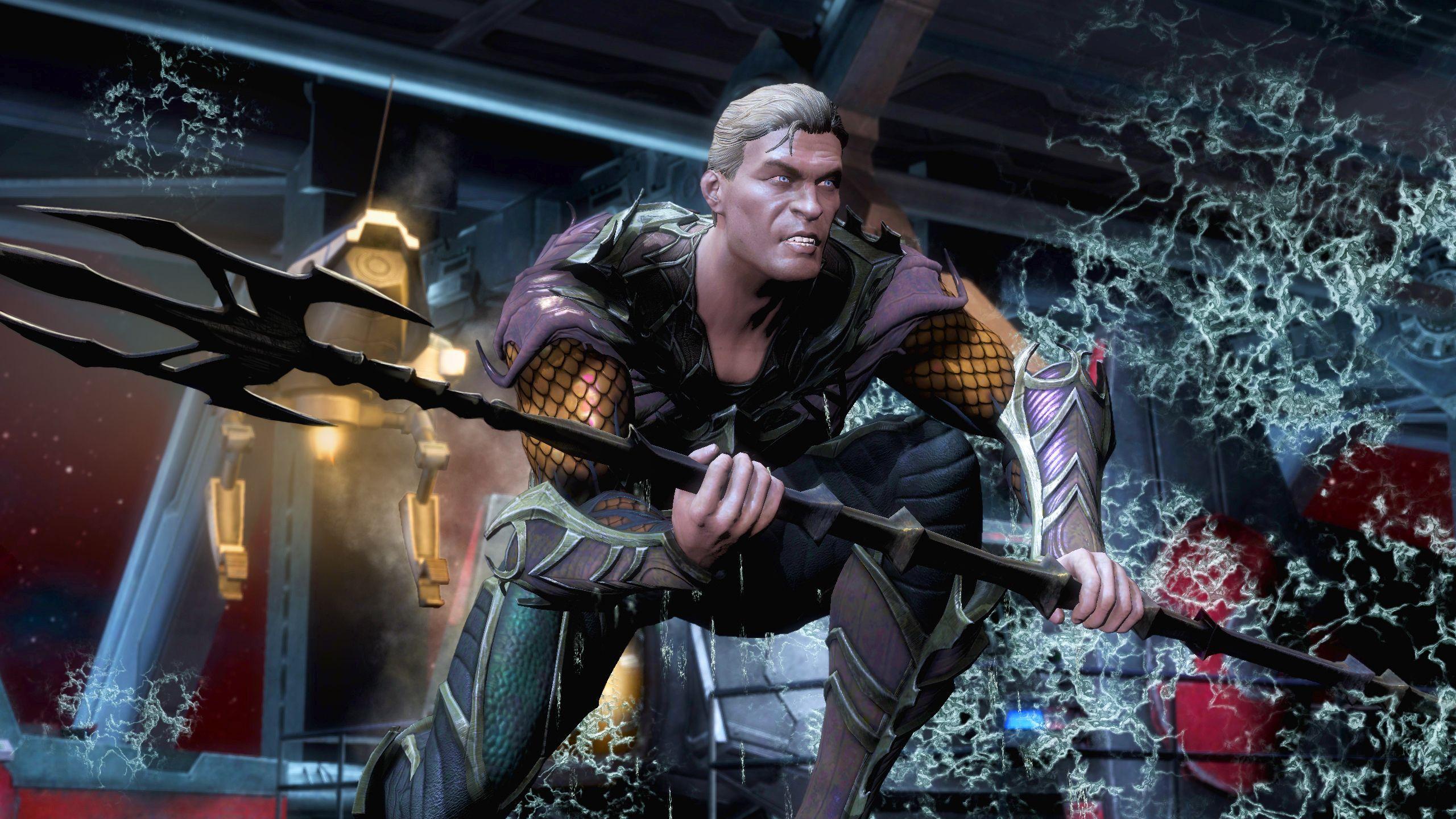 La habilidad especial de Aquaman, Water of Life, le permite recuperarse más rápido de los golpes, haciéndolo capaz de romper combos para contraatacar al enemigo, esta habilidad no aplica cuando te golpean en el aire.