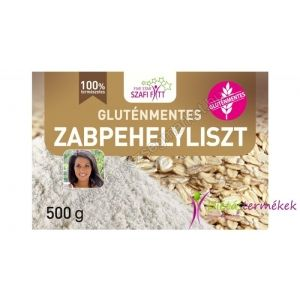 Szafi Fitt gluténmentes zabpehelyliszt 500g