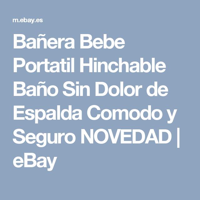 Bañera Bebe Portatil Hinchable Baño Sin Dolor de Espalda Comodo y Seguro NOVEDAD   eBay