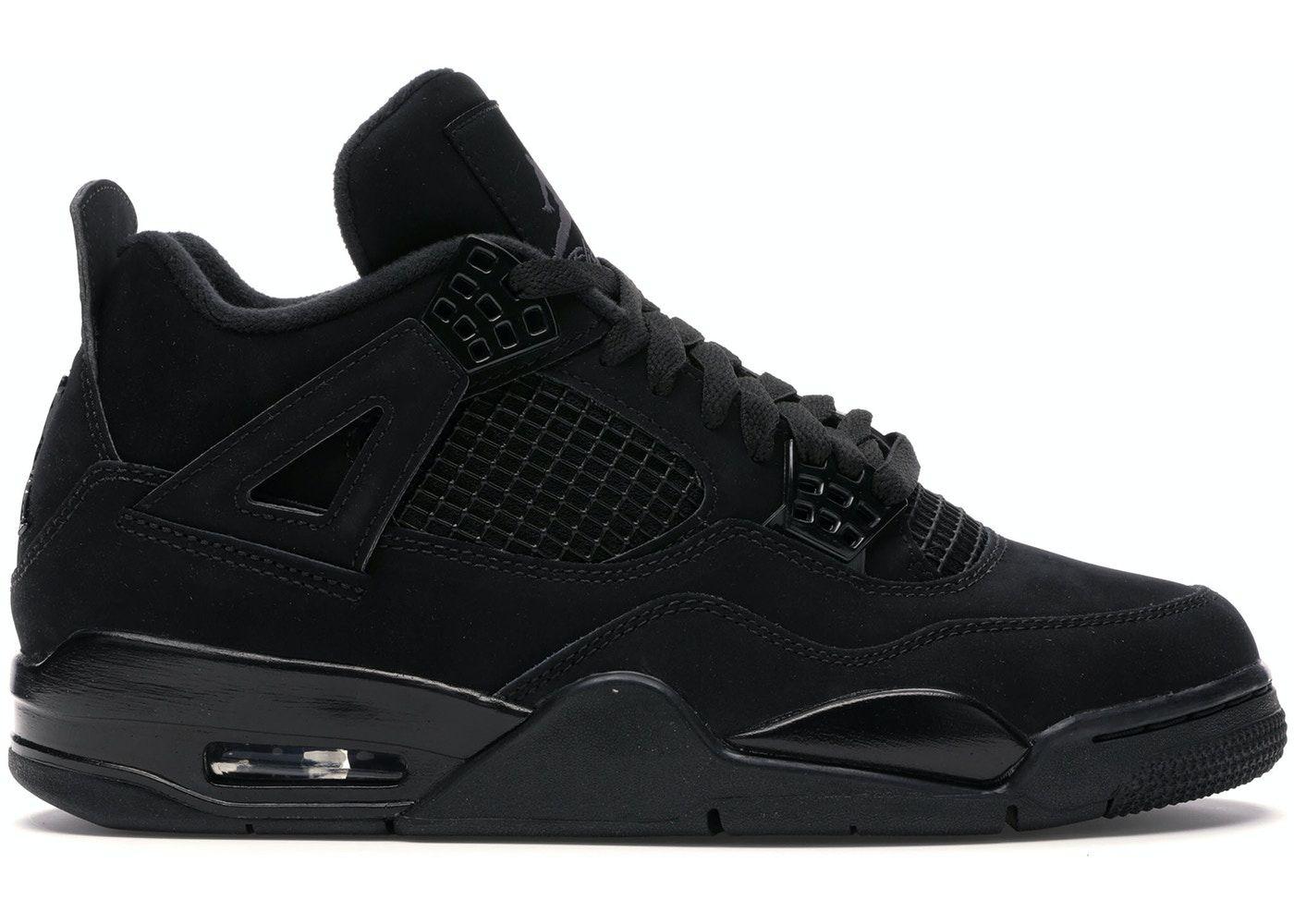 Jordan 4 Retro Black Cat (2020) in 2020 Jordan 4, Jordan