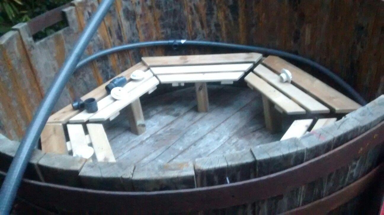 Pin by Eduardo Anadon on barrel el hot tub,Ofuro, Tina de madera ...