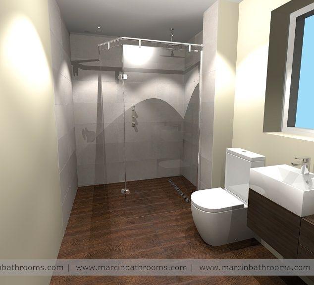 Porcelanosa Wood Effect Anti Slip Floor Tiles In Wet Room Funky Bathroom Japanese Bathroom Design 3d Bathroom Design