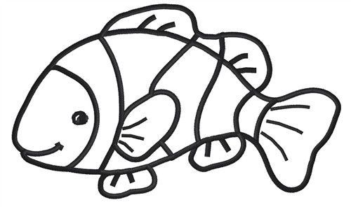 Clown Fish Drawings Design: | Clipart Panda - Free Clipart Images ...
