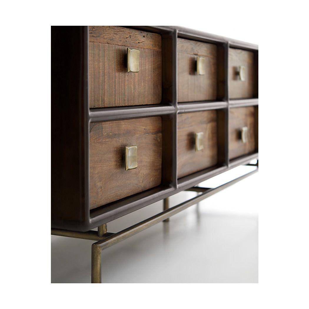 Shop Zander 8-Drawer Dresser.  The Zander 8-Drawer Dresser is a Crate and Barrel exclusive.