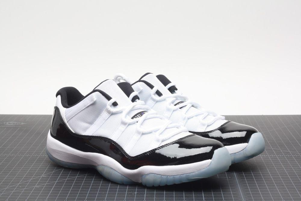 separation shoes 03704 c19b4 2014 Nike Air Jordan XI 11 Retro Low WHITE BLACK CONCORD PATENT 528895-153  NEW