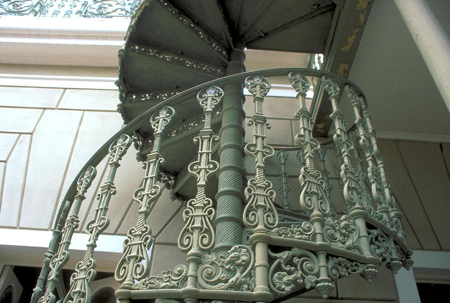 Exceptionnel Wrought Iron Spiral Staircase Photograph   Wrought Iron Spiral Staircase  Fine Art Print