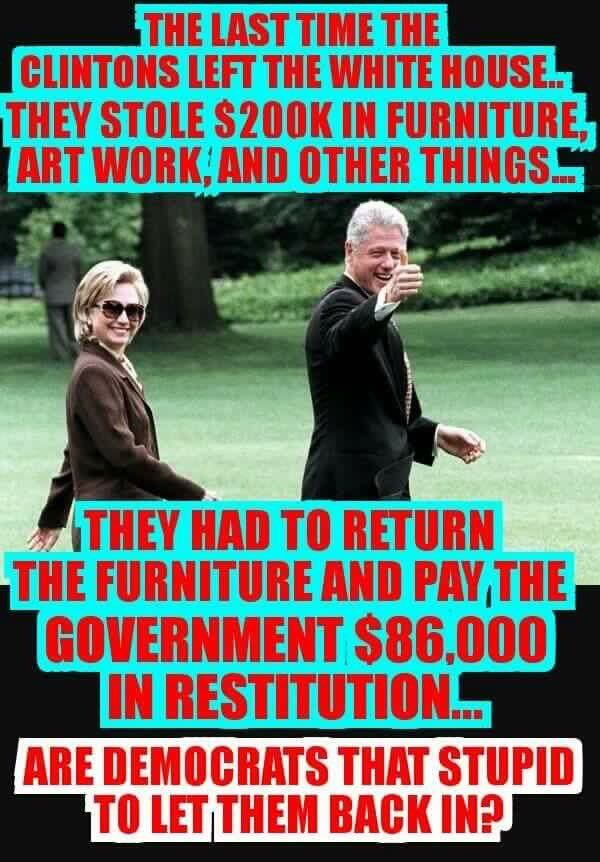 Many 2016 Voters Don T Know About Team Clinton Destroying White House