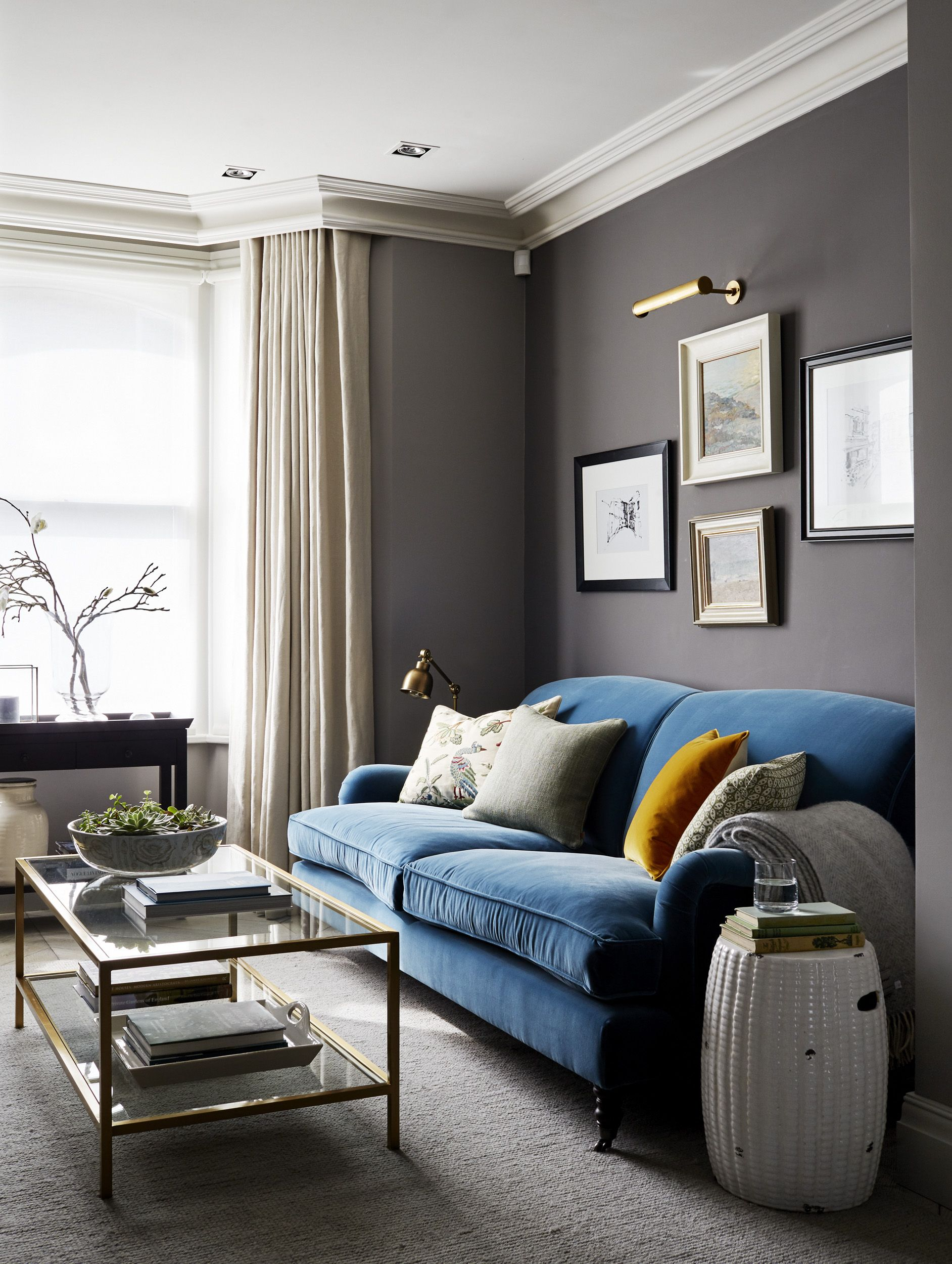 Townhouse Living Room Design: Parsons Green Townhouse Sitting Room