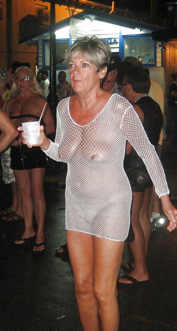 Granny nude small tits