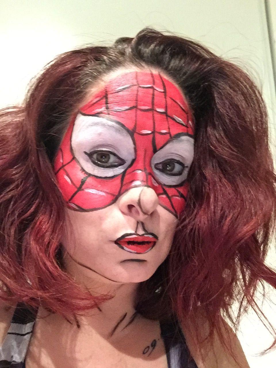 Spiderman | Maquillage professionnel, Maquillage