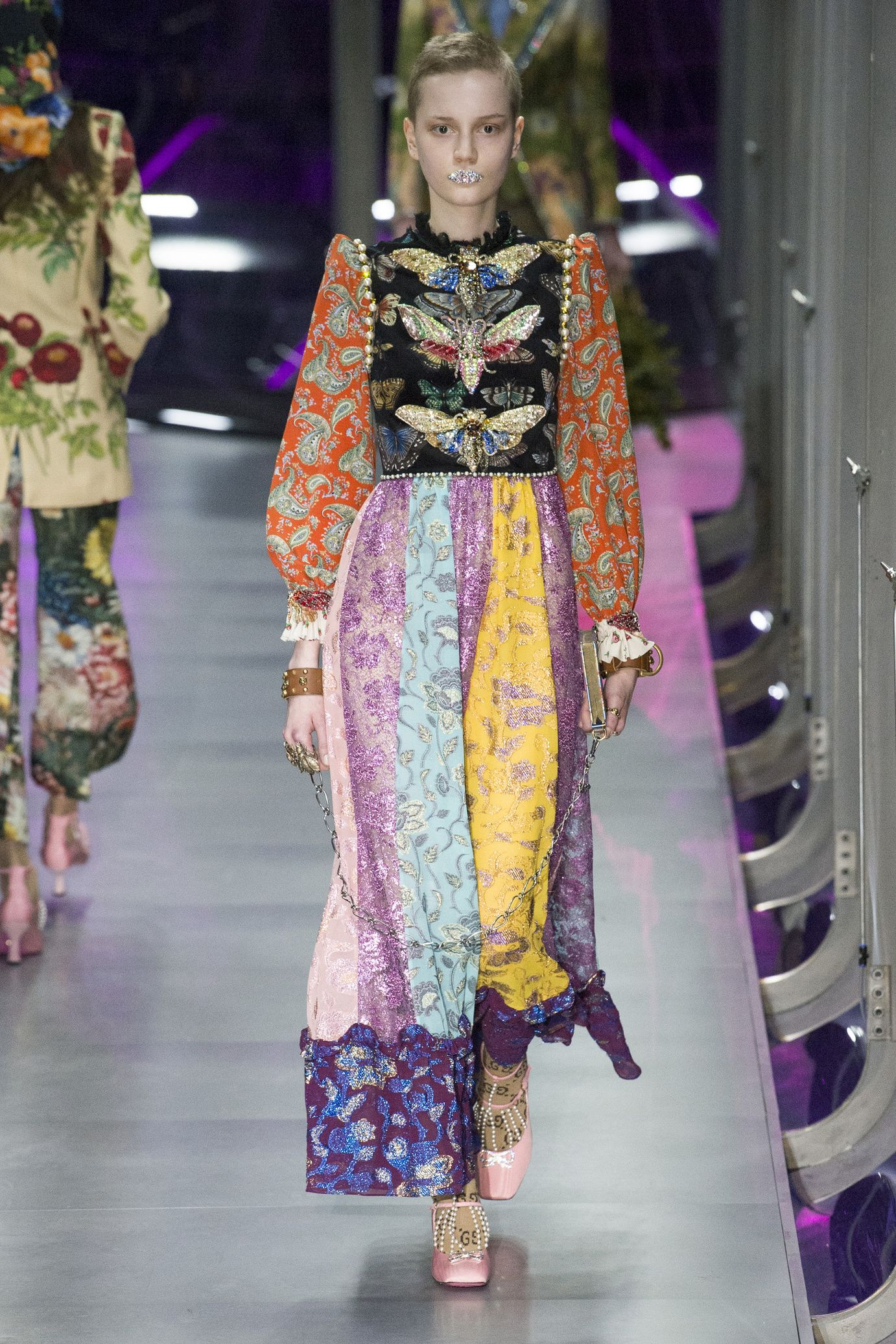 Collection autumn-winter of 2017-2018 by Gucci 52