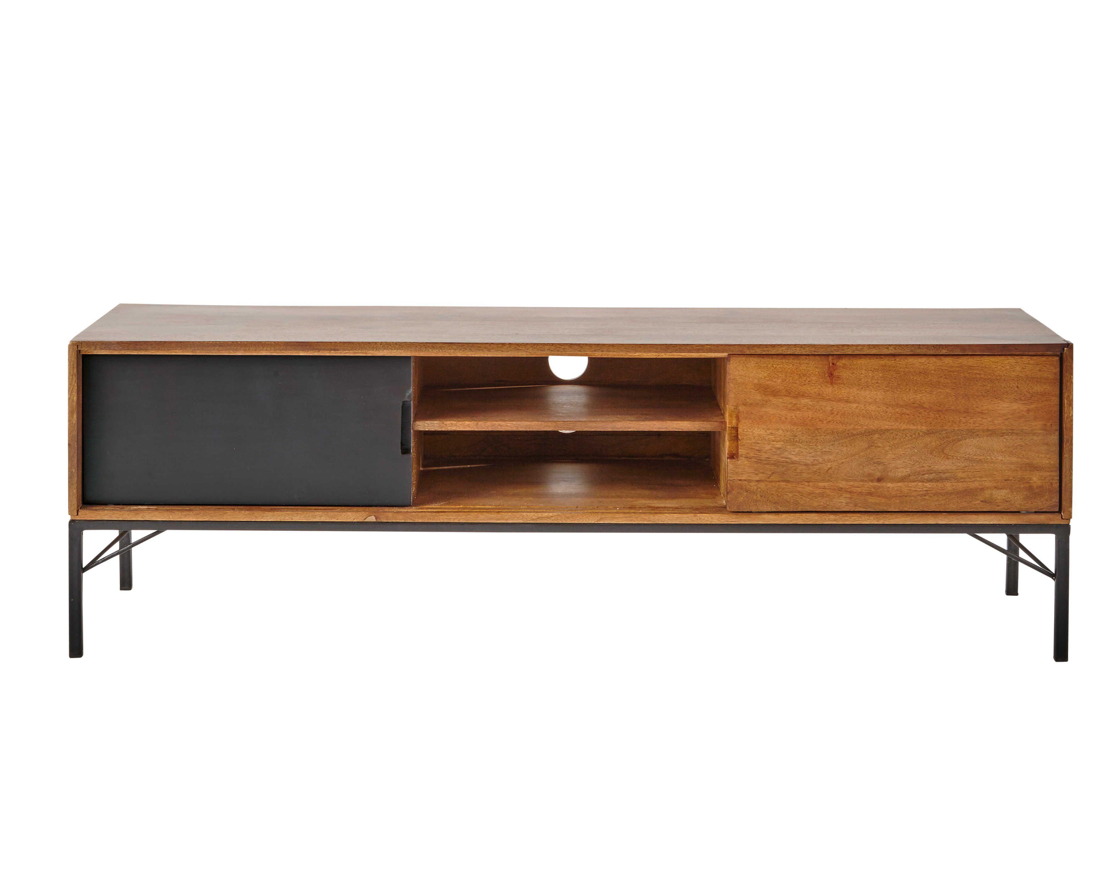 Tv meubel mangohout breedte 150 cm arty inrichting pinterest - Verf credenza ...
