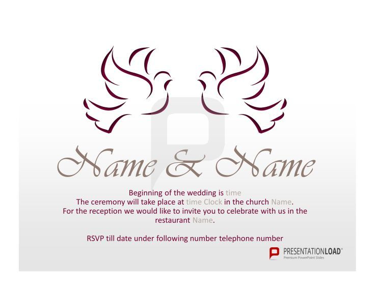 Send your wedding invitation with these beautiful powerpoint send your wedding invitation with these beautiful powerpoint templates free and ready to go toneelgroepblik Images