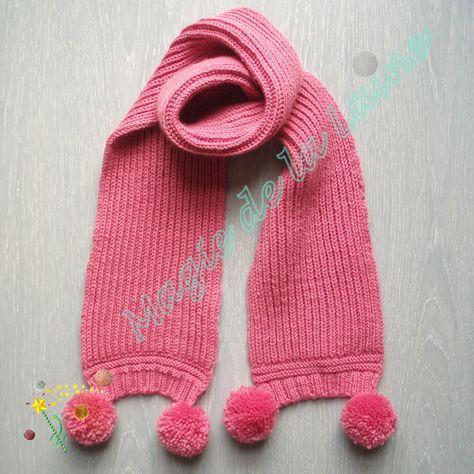 Vu sur aubout-del-aiguille.fr nouvelle vidéo tuto pour tricoter une écharpe 7303dfc612f