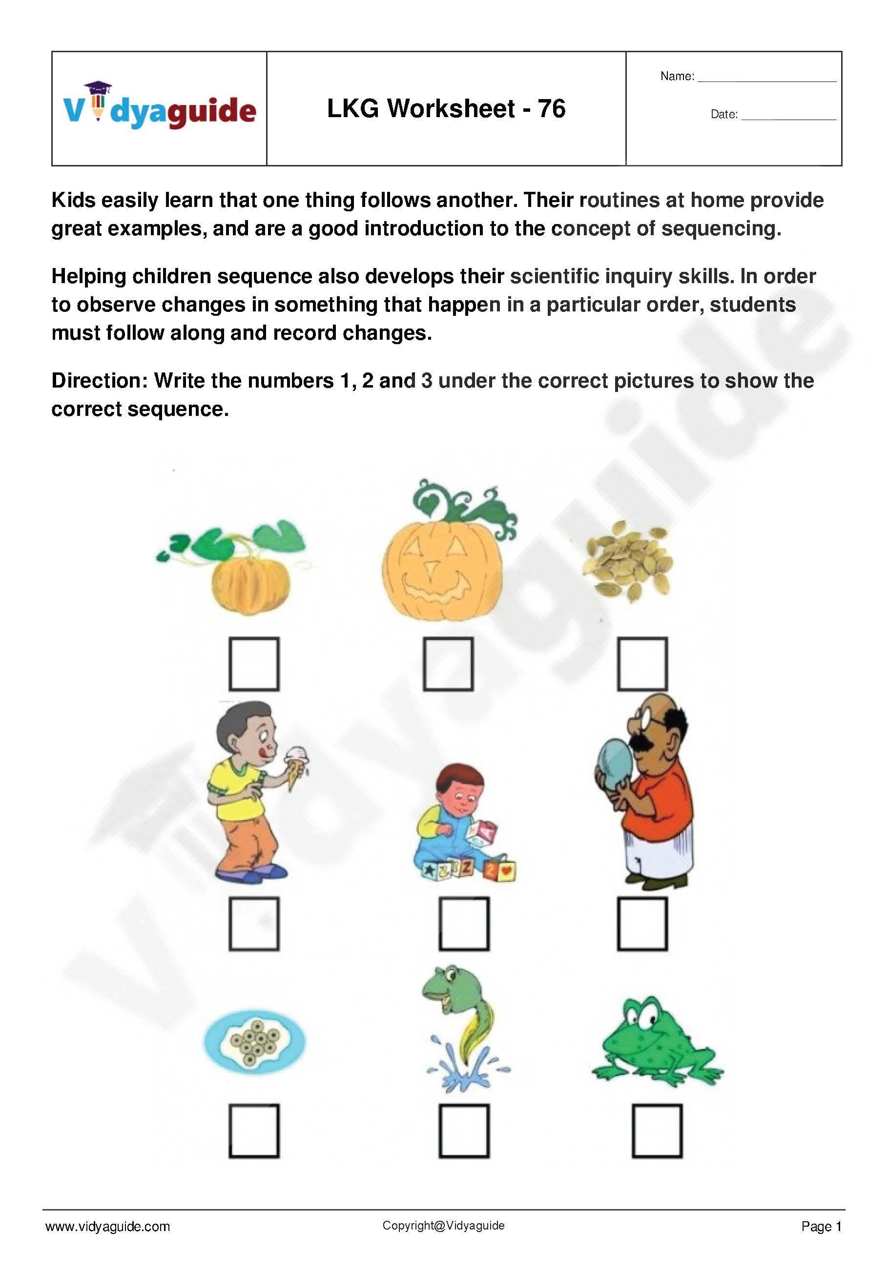 Lkg Worksheets Set 16