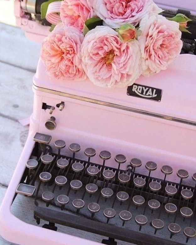 1000 Images About Retro Vintage On Pinterest: Vintage Typewriters, Vintage Pink